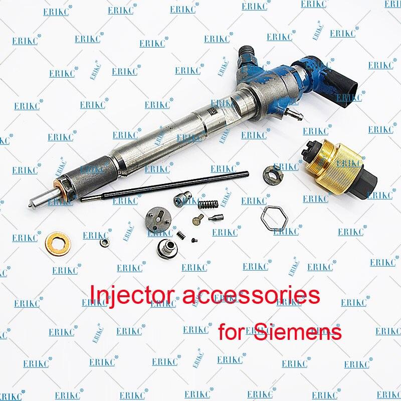 ERIKC Bocal de Pulverizador Peças M0011P162 para Audi Siemens Injector De Combustível Inyector 5WS40539 A2C9626040080 A2C59513554