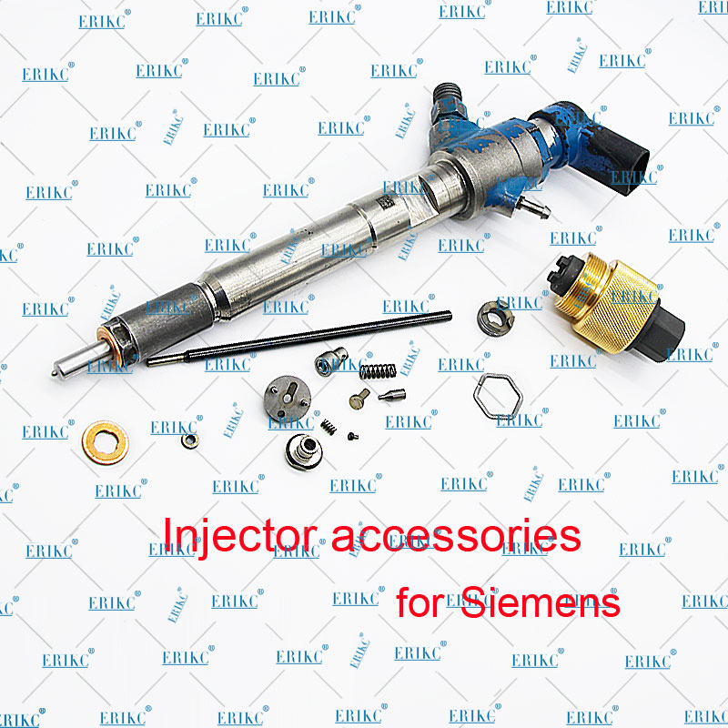 ERIKC Spray Nozzle Fuel Injector Parts M0011P162 for Audi Siemens Inyector 5WS40539 A2C9626040080 A2C59513554