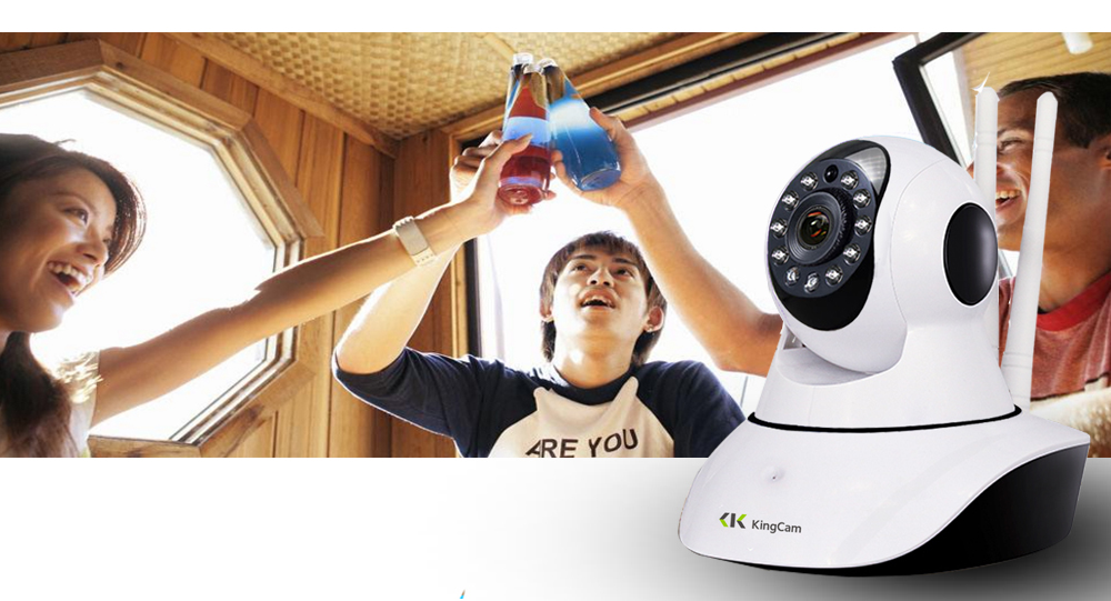 Kingcam HD 1080 P Wifi IP Camera Wireless Home Security IP Camera ... 8b4e44246fb