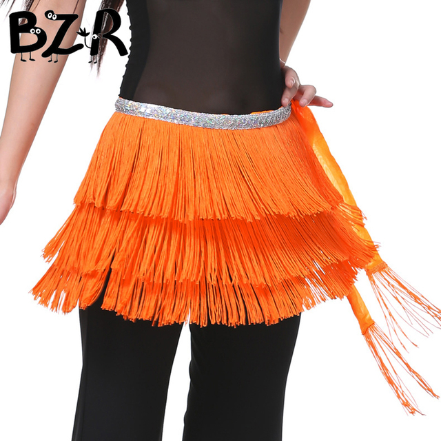 6a0edd4fc Bazzery 3 Layers Fringe Sequined Oriental Belly Dance Costumes Belt for  Women Indian Dancing Hip Scarf Bellydance Accessories