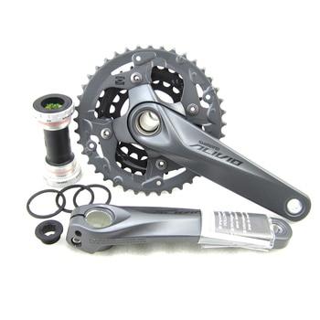 SHIMANO FC M4050 T4060 Alivio 3x9S Speed MTB Bicycle Crankset 170mm (not include BB52)