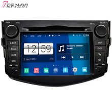 Newest DHL Free Shipping S160 Quad Core Android 4.4 Car DVD Player For Toyota RAV4 With16GB Flash Wifi BT GPS Mirror Link