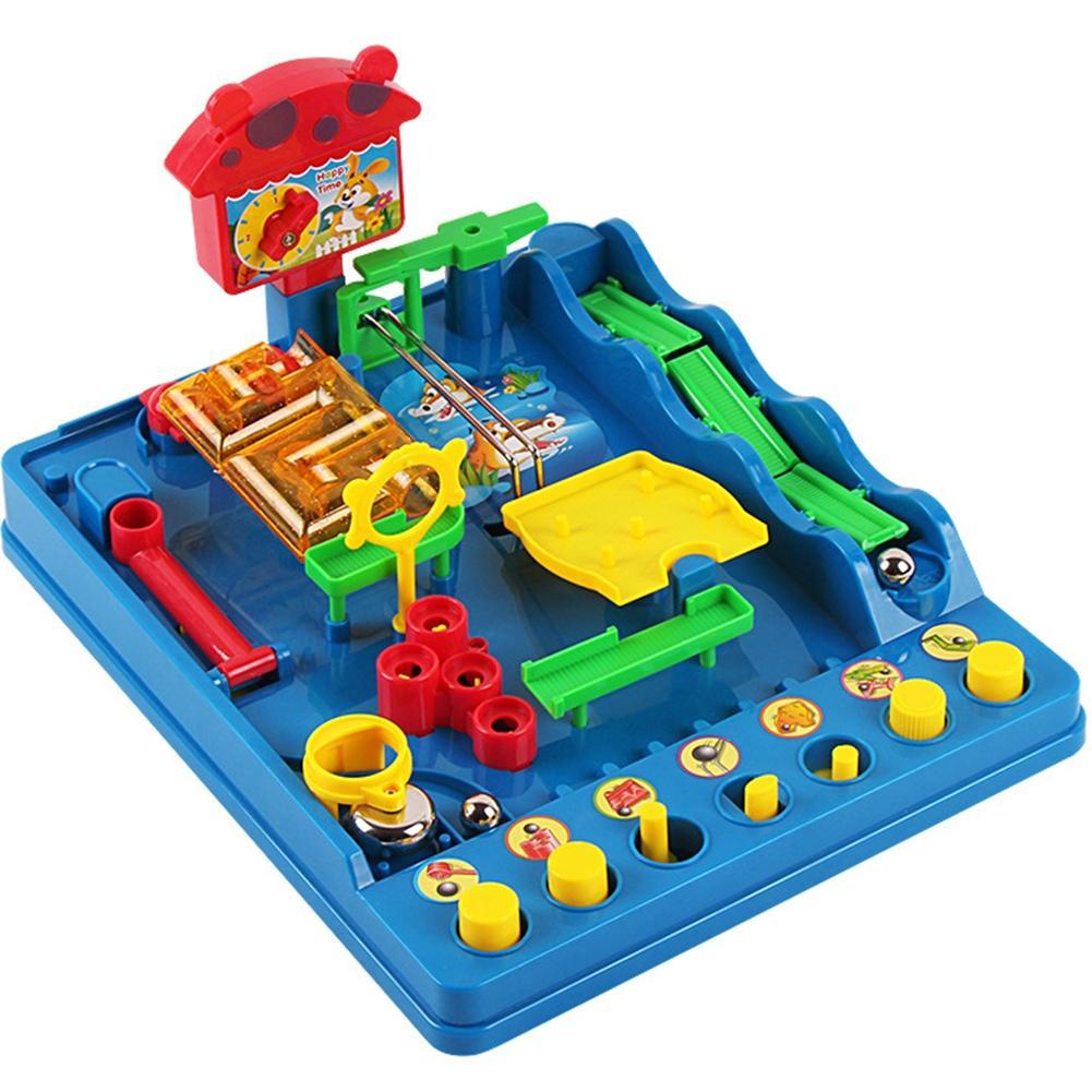 Leadingstar детей 8 контрольные точки интеллектуальной аквапарк игровой набор головоломки лабиринт Игрушечные лошадки zk30