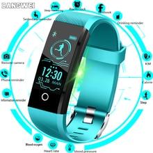 Купить с кэшбэком 2018New Sport Smart Bracelet Men Smart Watch Women Fitness Tracker Smart Wristband Heart Rate Blood Pressure Monitor Smartwatch