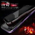 Автомобиль для укладки Авиации Алюминиевый Бампер case для Apple iPhone 7 Iphone 7 Plus Luphie Роскошный двойной цвет Рамки Антидетонационных телефон обложка