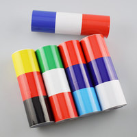 5M Sticker Badge Emblems Trims Strips Case For M Logo German Russia France Italy Flag Car