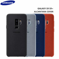 100 Original Samsung Galaxy S9 S9 Plus S9 G960 G965 Anti Fall Leather ALCANTARA Cover Anti