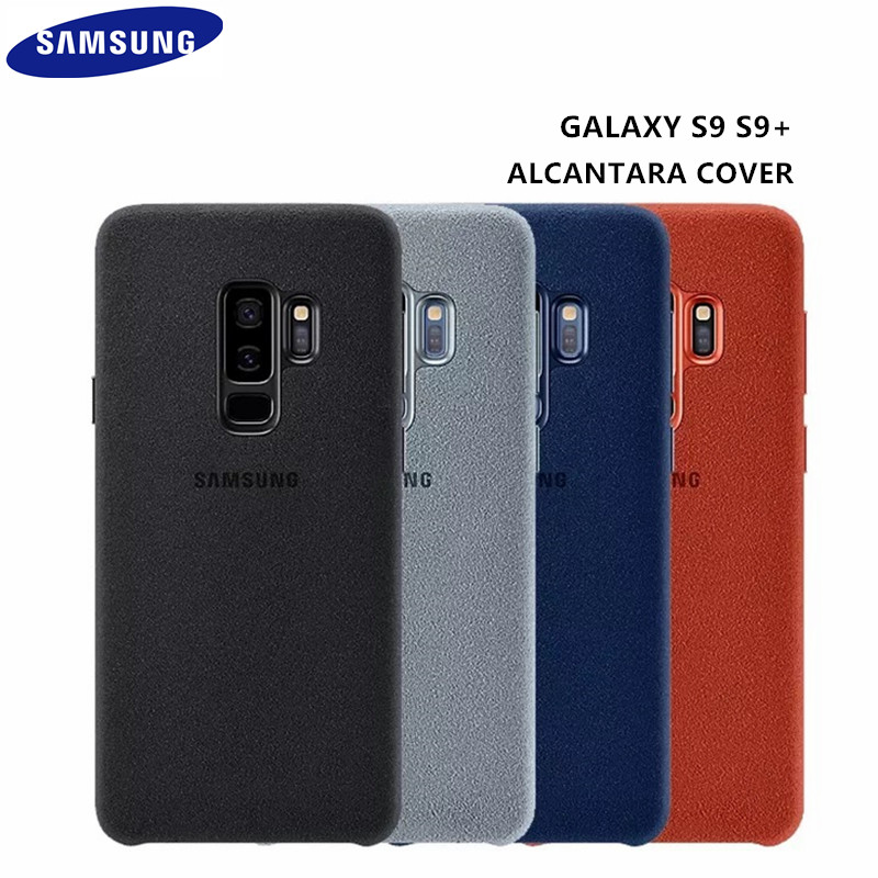 100% Original Samsung Galaxy S9 S9 plus S9 + G960 G965 Anti-Herbst Leder ALCANTARA Abdeckung antiklopf fall EF-XG960 4 farbe