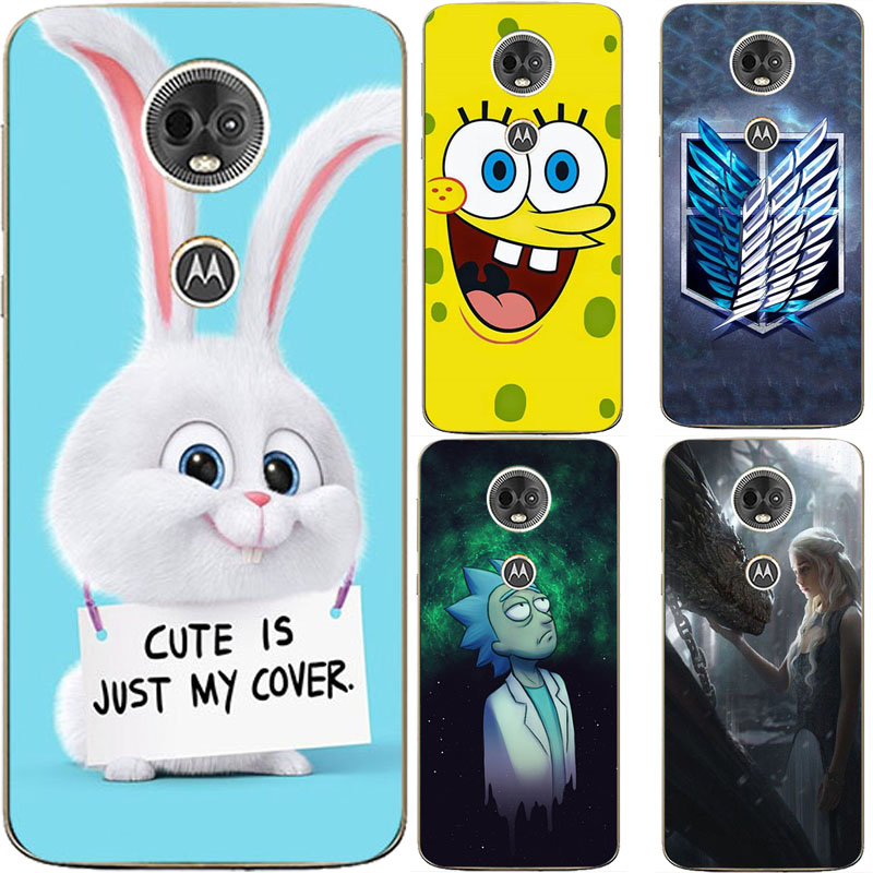 For Motorola Moto E5 Plus Case Silicone Soft Cover For Motorola MotoE5 Plus Case Cute For Moto E 5 Plus Phone Cases