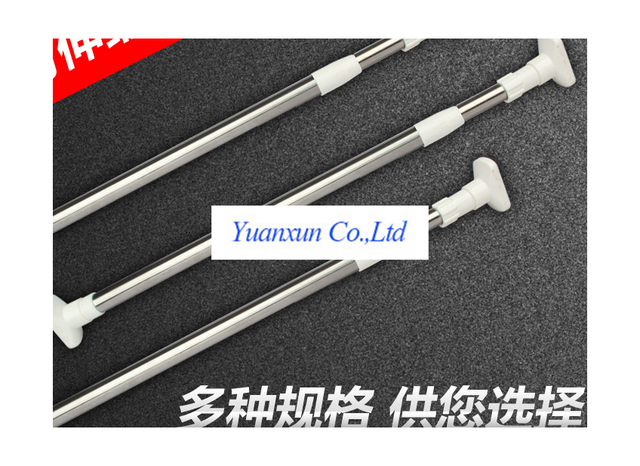 Promotional telescopic rod free installation rods 12 1.6 stainless ...