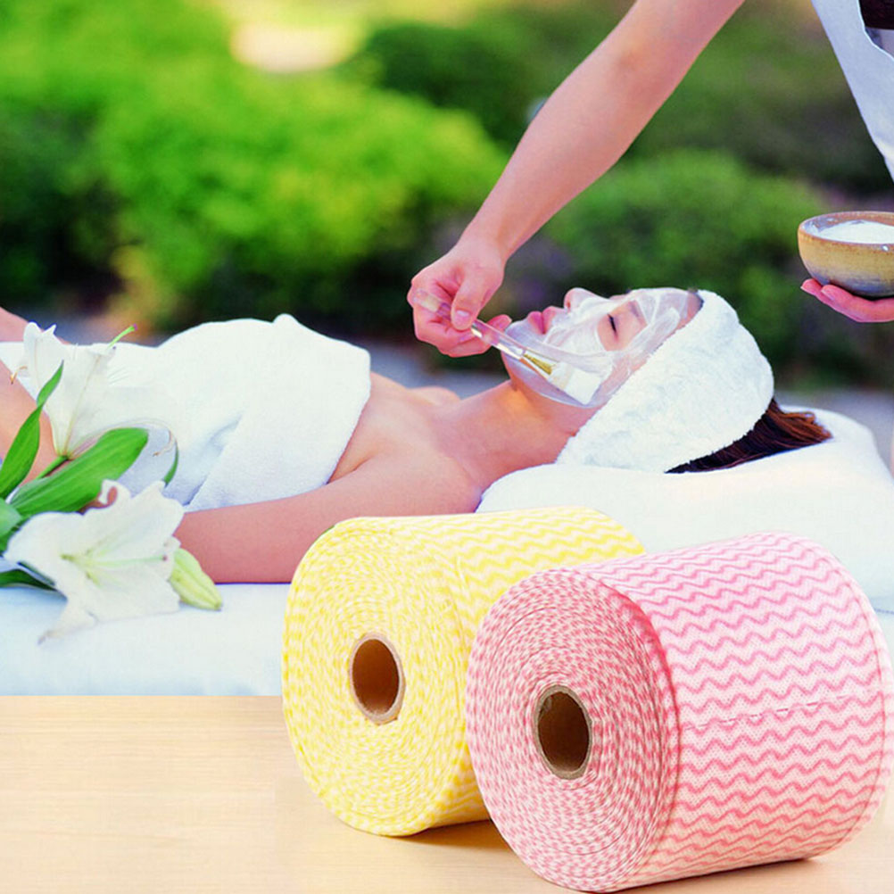 65.6ft Disposable Face Towels Beauty Towel Roll Disposable Towels