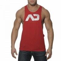 Heißer Verkauf Männer lässig Turnhalle Bodybuilding Tank Tops Fitness Singuletts Sleeveless shirtcotton Weste Sport Muscle Ausbildung Stringer