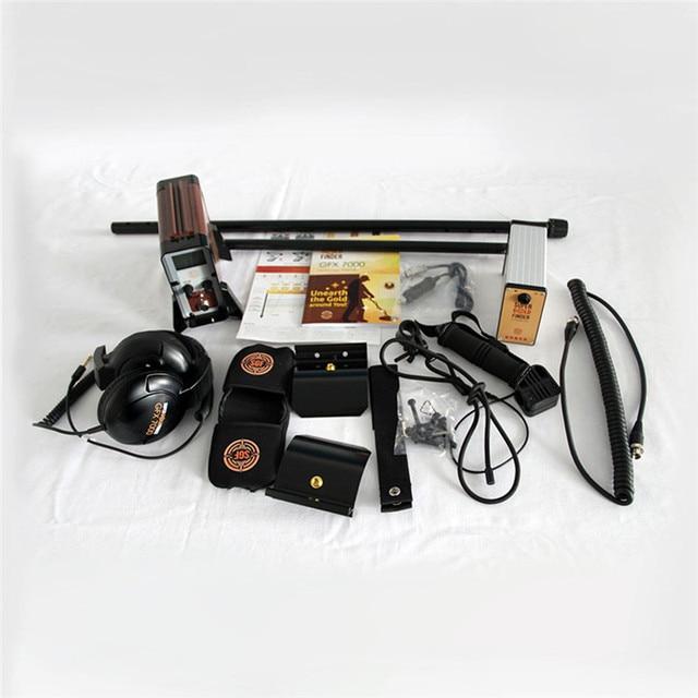 GFX-7000 High Performance Underground Metal Detector Gold Finder, Deep Earth Gold Scanner Gold King Metal Detector GFX7000