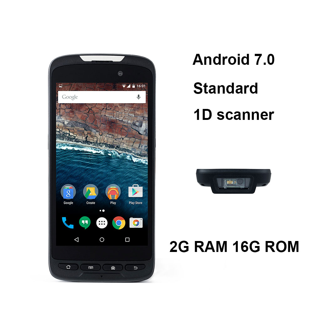 RT52 PDA Barcode scanner 1D 2D Bluetooth Android Handheld Terminal Rugged PDA Wireless Mobile 1D Bar