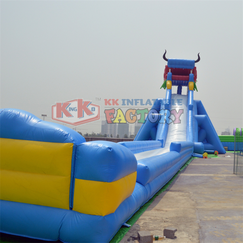Inflatable Water Slides For Sale: Giant Commercial Dragon Inflatable Slip N Slide Inflatable