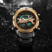 NAVIFORCE Top Luxury Brand Men Military Waterproof LED Sports Watches Men's Digital Clock Male Wrist Watch relogio masculino