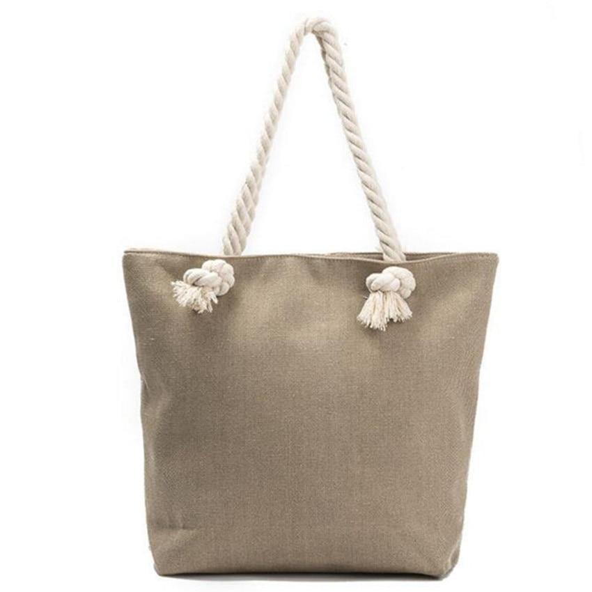 bolsa de lona bolsa de Formato : Casual Tote