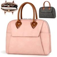 13 13.3 14 15 15.4 15.6 Inch PU Waterproof Desinger Ladies Laptop Notebook Bags Case Briefcase Handbags Messenger for Women