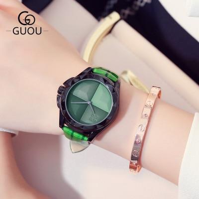 New Reloj Fashion Ladies Watch Women Luxury Brand Quartz Watches Casual Leather Strap WristWatch relogio feminino Clock in Women 39 s Watches from Watches