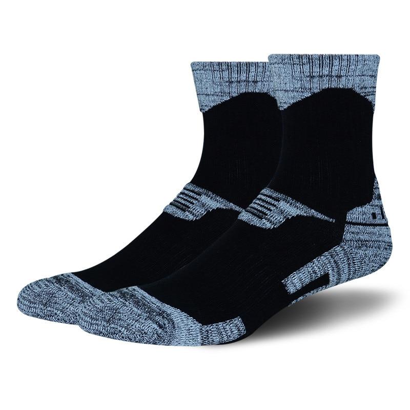 Зимние теплые мужские и женские теплые лыжные носки, толстые хлопковые спортивные носки для катания на сноуборде и пеших прогулок, носки дл...