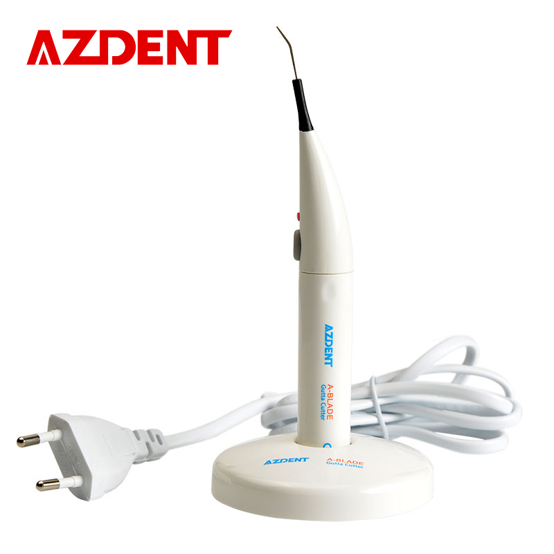 AZDENT Advanced 1 Set Dental Gutta Percha Tooth Gum Cutter Endo Gutta Cutter Gutta Percha Dissolved Breaker Cutter With 4 Tips