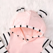2Pcs Hooded Clothing Set 0-2 Years