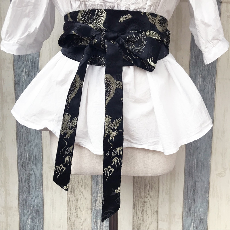 2019 Printed Antique Kimono Belt Hair With Hair Rope Ancient Costume Tire Belt Cos Rope Restoring Ancient Ways