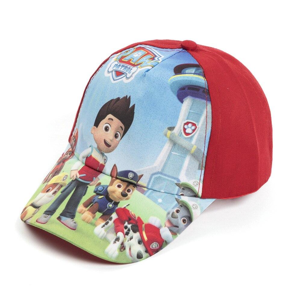 Boys Kids Paw Patrol Star Wars Character Summer Sun Baseball  Cap New