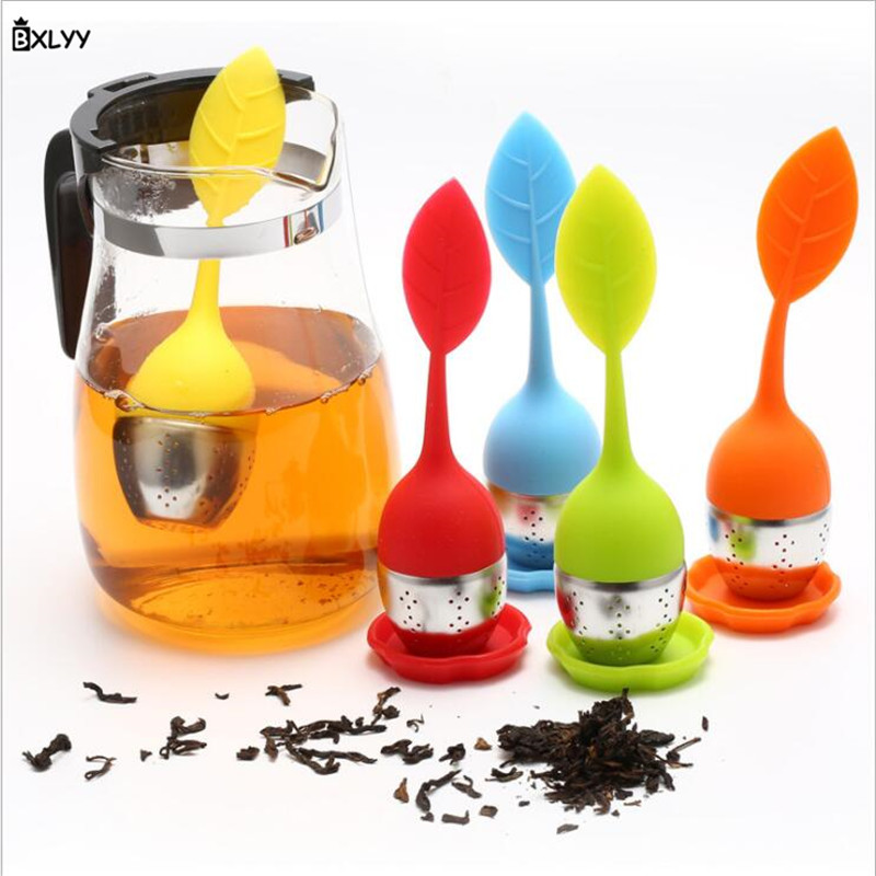 Tea Strainers Bxlyy 2019 Sale Silicone Tea Filter Filter Creative Leaf Silicone Tea Filter Kitchen Widget Tea Strainers Kitchen Accessories.7 To Be Distributed All Over The World