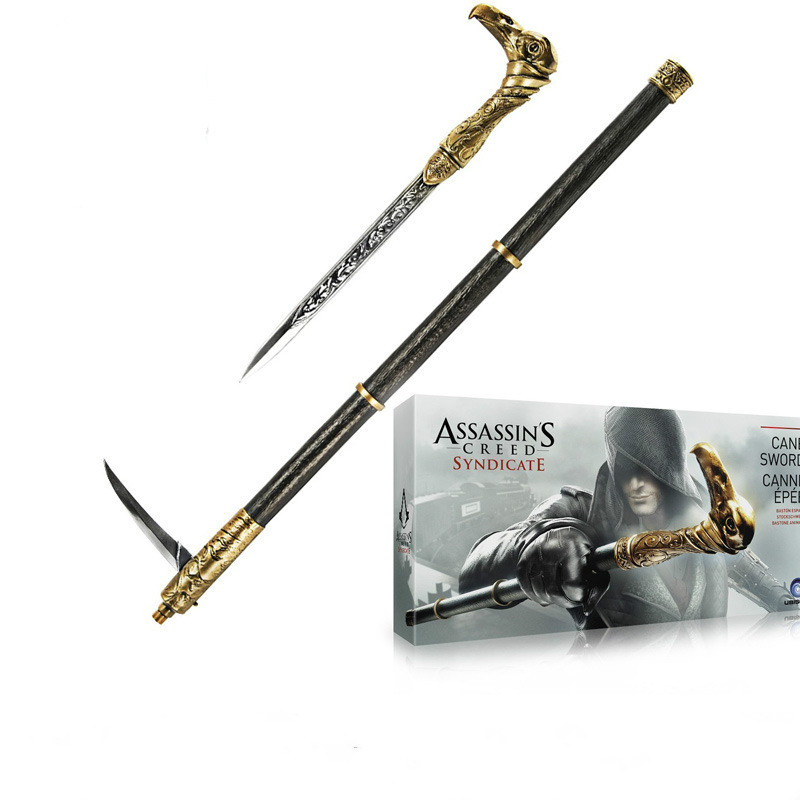 Assassins Creed Syndicate OR Cane Sword 1 to 1 Pirate Hidden Blade Edward Kenway New in Box toy Christmas Game gifts фигурка assassin s creed iv edward kenway master of the seas 45 см