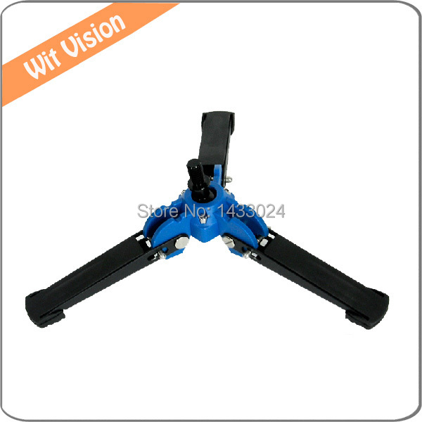 Stable Hydraulic Universal Three Feet Support Stand Tripod Holder for Monopod