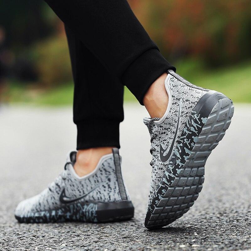 Casuales Moda Cómodo Agesea Los Zapatos Tamaño 39 Transpirables De black Y Verano Hombres Caliente Admx1828 2018 48 Gray xzPxFg