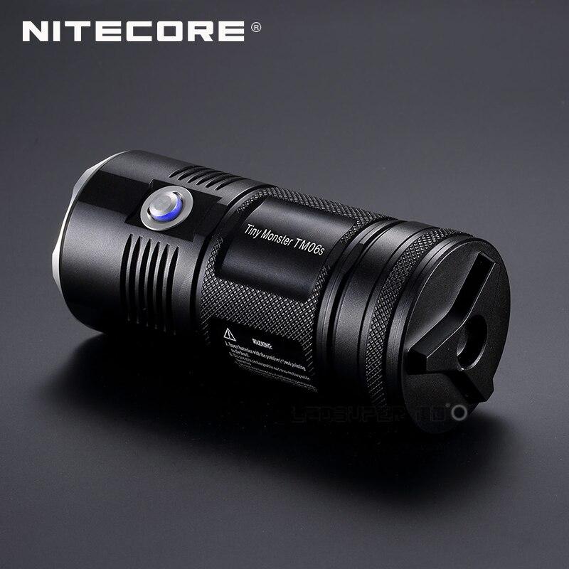 New product 2015 2016 Tiny Monster Nitecore TM06S 4000 Lumens CREE XM L2 U3 LED Searchlight Flashlight - 4