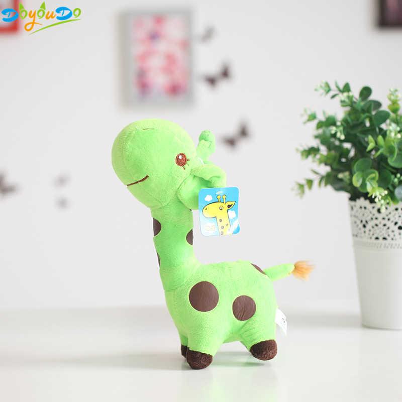 18 cm Bonito Brinquedos Rainbow Girafa Brinquedos de Pelúcia Bonecas Para Crianças Brinquedos Do Bebê Kawaii Presente Para Presentes de Natal Do Bebê