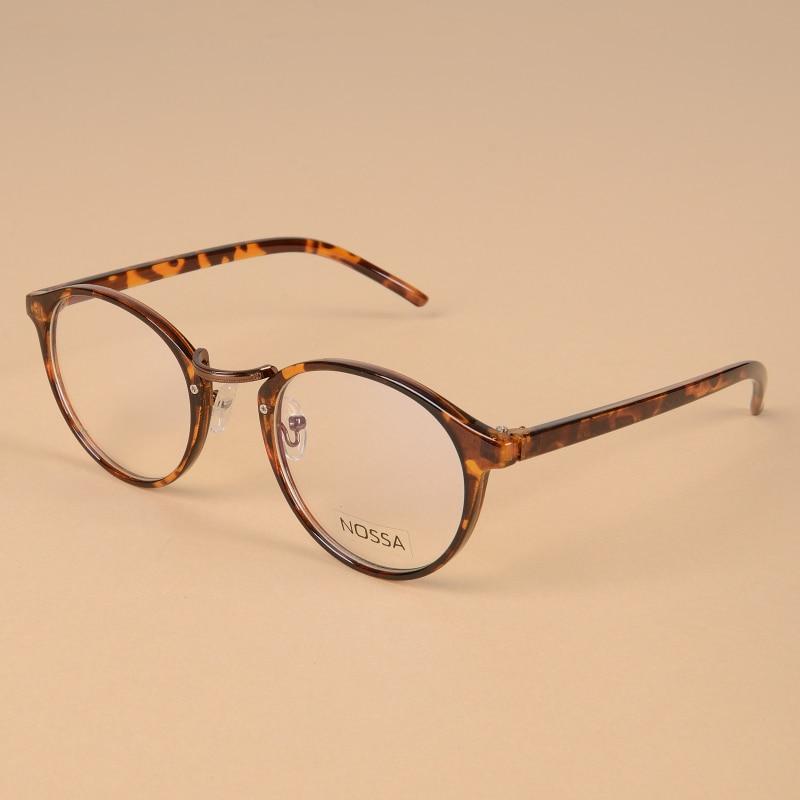 d0e0c417db Trendy Plastic Eyeglasses Frames Women Classic Optical Glasses Round Frame  Clear Lens Men Reading Glasses Frame Ultralight Frame-in Eyewear Frames  from ...
