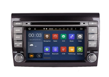 ROM 16G Quad Core Android 7.1 Fit FIAT BRAVO 2007 2008 2009 2014- 2017 CAR DVD PLAYER Multimedia Navigation DVD GPS RADIO STEREO
