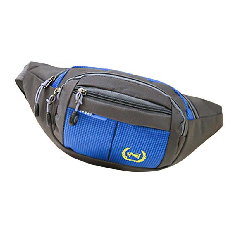 Functional Unisex Travel Chest Bag Waterproof Casual Pocket Belt Pouch Professional Nylon Waist Bags for Men Money Phone Bag Y1 polo authentic golf standard packages bag pulley drawbars travel professional lady rod bag standard cue packages nylon with pu