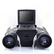 Профессиональный бинокль 12x32 HD, цифровая камера 5 Мп, 2,0 дюймовый TFT дисплей, full hd 1080p, телескоп