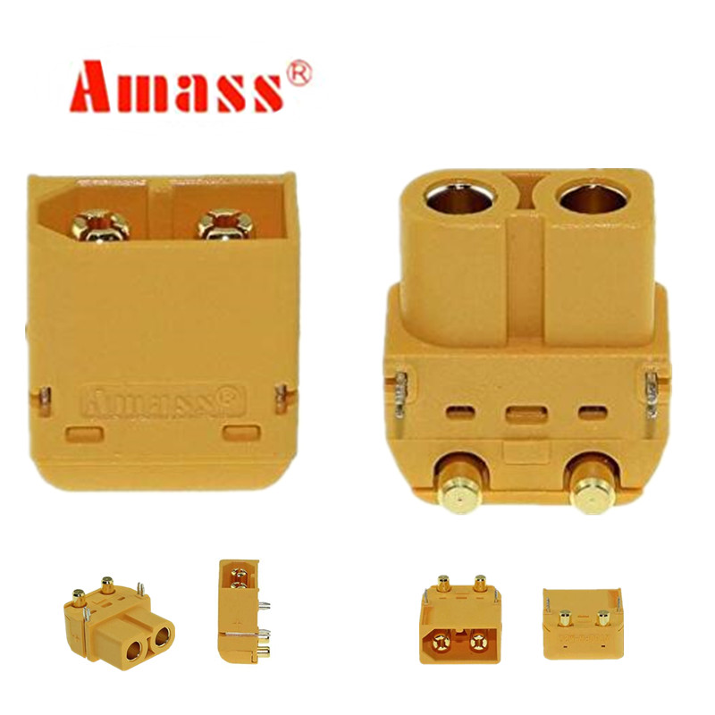 Amass XT60 XT60PW Plug Connector Male & Female 2 pair For RC Battery Rc Models 20%Off цена