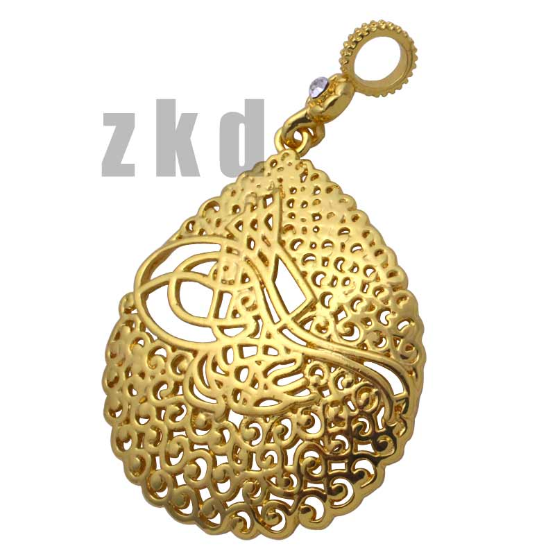 Necklaces & Pendants Nice Zkd Islam Muslim Ottoman Turkish Crystal Pendant Necklace Pendants
