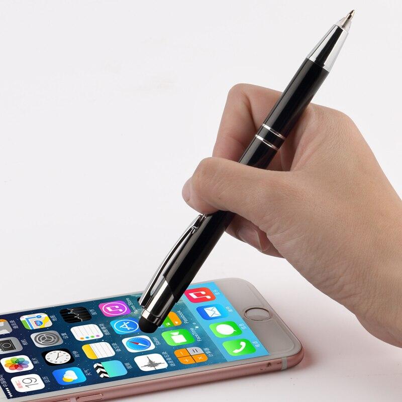 TERCEL office School Supplies Multi-function Creative LED Light Touch Screen Pen Ballpoint pens marker Gel pen stationery