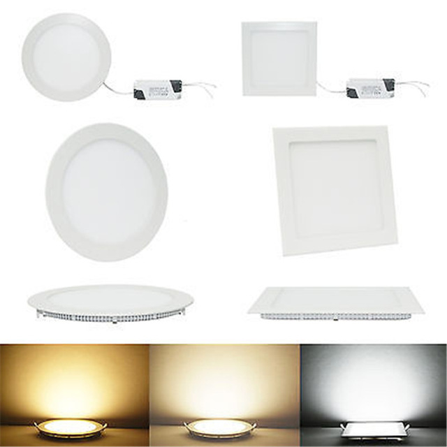 Ac 12v24v 3w 25w square led ceiling light recessed kitchen bathroom ac 12v24v 3w 25w square led ceiling light recessed kitchen bathroom lamp led down light warm whitecool white driver in downlights from lights lighting aloadofball Images