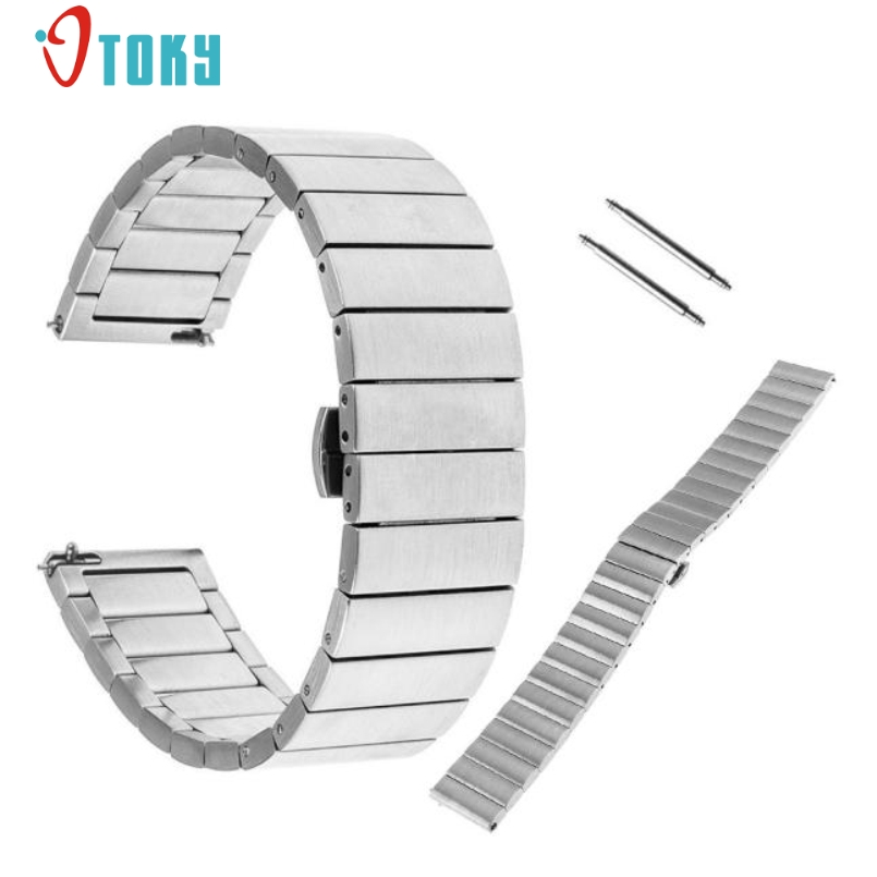 Excellent Quality Stainless Steel Watch Bands Bracelet Strap for Moto 360 2nd Men Women 46mm Smart