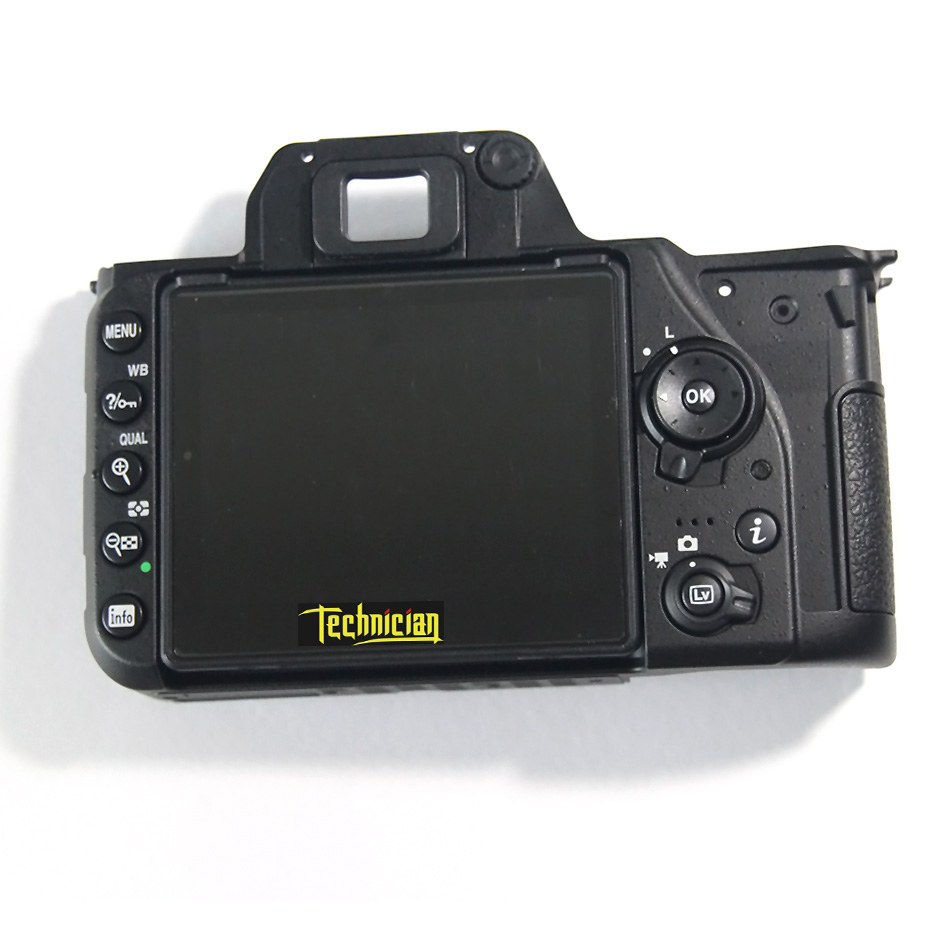 D7500 Rear Back Cover With LCD And Key Button Camera Replacement Parts For Nikon in Body Parts from Consumer Electronics