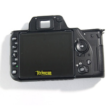D7500 Rear Back Cover With LCD And Key Button Camera Replacement Parts For Nikon