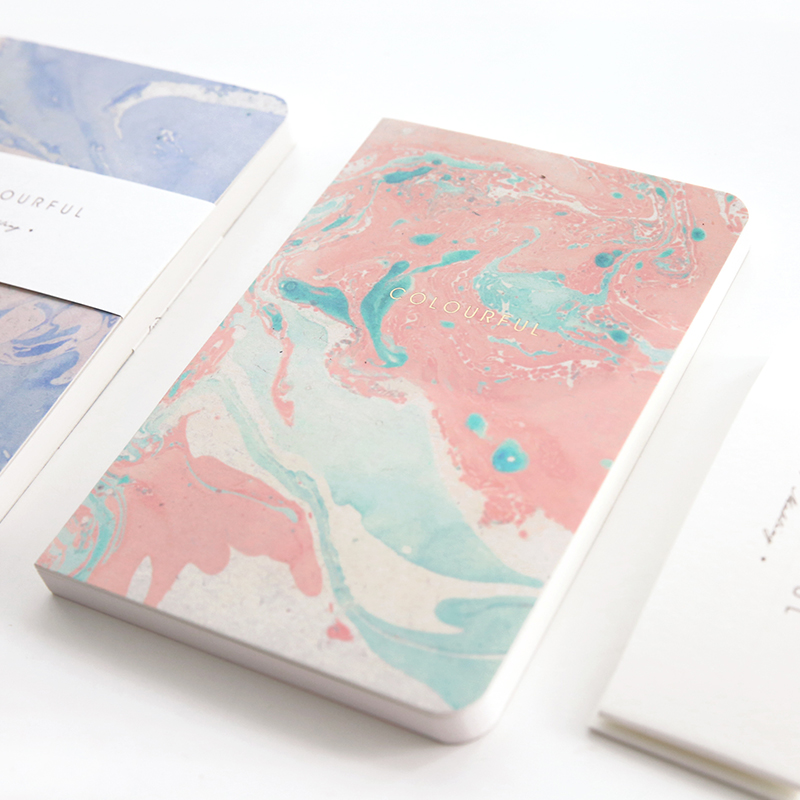 Japanese Oil Paint Notebook Blank Horizontal Grid Notebook 1PCS