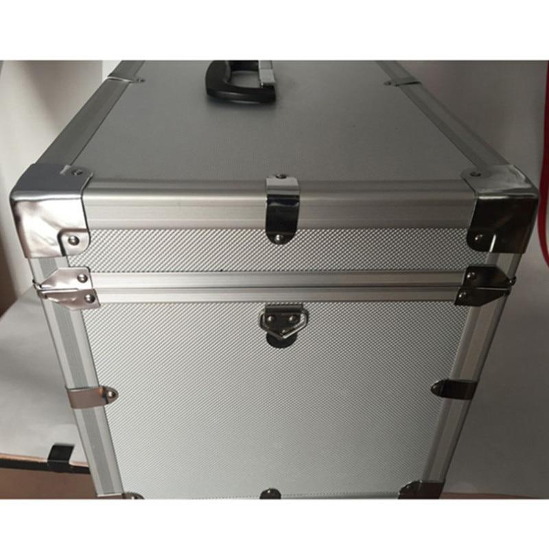 Alüminyum çerçeve ABS MDF levha bavul kılıfları seyahat - Bagaj ve Seyahat Çantaları - Fotoğraf 3
