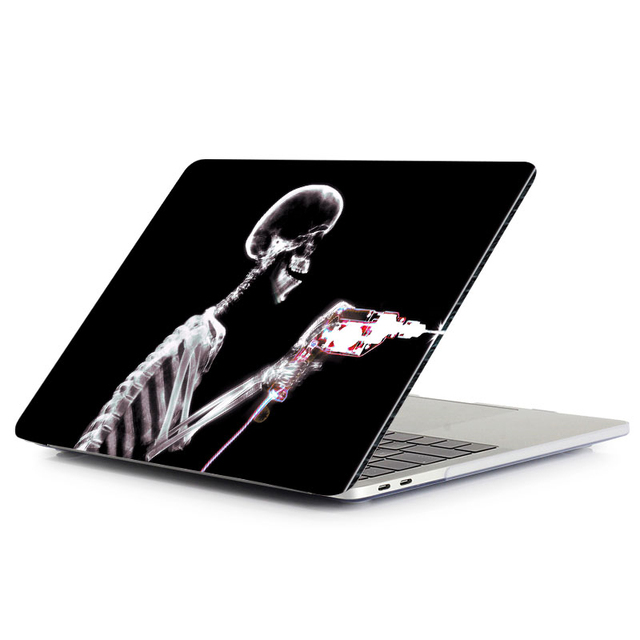 MTT black Skeleton Case for MacBook 2