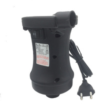 HT-458 2 Motor Electric Inflatable Air Pump – AC 220V DC 12V Car Cigarette Lighter Pump Inflator Deflator for Fishing Boat