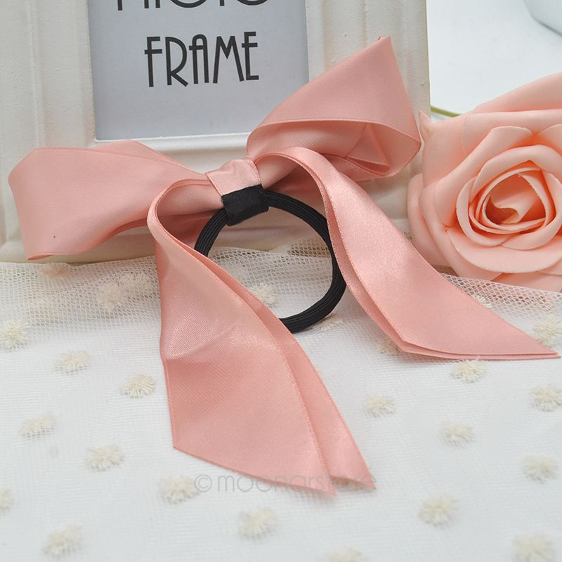 2 PCS Lady Girl Trendy Women Ponytail Holder Ribbon Bow Hair Band Hair Rope  Hair Decor Accessories AMHM030 60-in Women s Hair Accessories from Apparel  ... 884cb2ebbbc